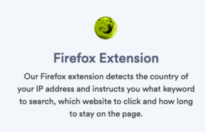 Serpclix Firefox Extension