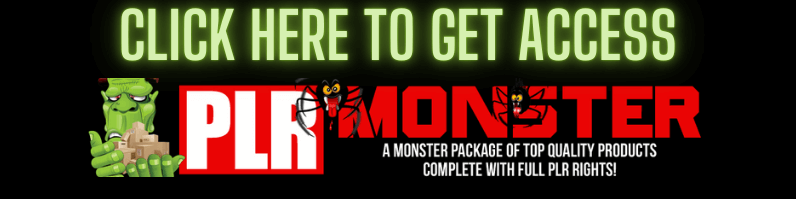 Click Here To Get PLR Monster